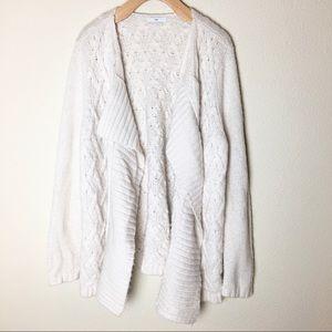 Gap Cream Cardigan Sweater